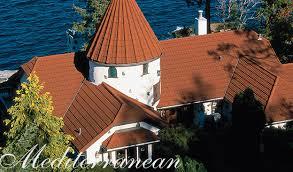 Mediterranean Roof Tile Stone Coated Steel Mediterranean Tile Strength U0026 Elegance Decra