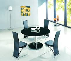 black glass kitchen table planet black round glass dining table with ashley chairs