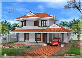 sloping roof kerala house design at 2000 sqft stylish and peaceful