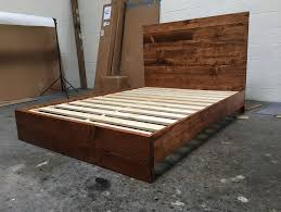 full bed frame and headboard set home design ideas