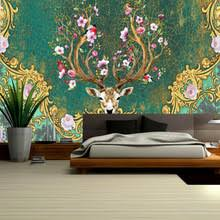 buy deer wall mural and get free shipping on aliexpress com