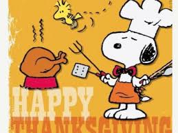thanksgiving dinner snoopy clipart clip library