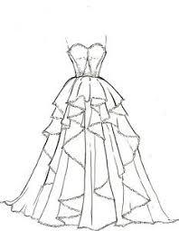 artists original fashion illustration sketch pencil drawing
