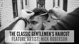 the classic gentlemen u0027s step by step haircut