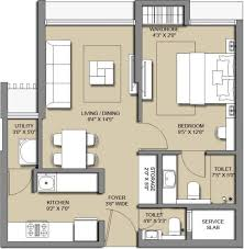 407 sq ft 1 bhk floor plan image lodha group luxuria codename