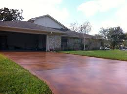 Stain Concrete Patio by Patio Construction Austin Patio Covers And Builders In Austin