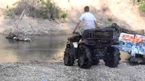me going deep on an arctic cat 300 youtube