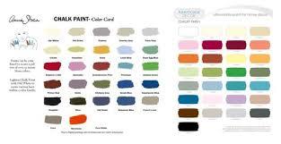 side by side color comparison of annie sloan chalk paint u0026 home