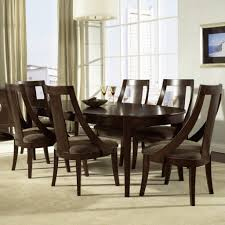 Dining Table Design With Price Oval Dining Room Minimalist Design With Oval Dining Table Oakwood