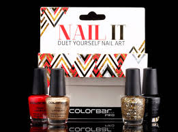 fomo fashion on my own new colorbar launches u0027nail it duet