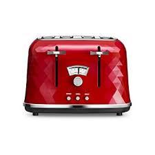 Deloghi Toaster Delonghi 0176141851 Ctj4003 R Brillante Toaster 1800 W Red