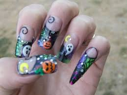 nail art halloween nails monsters nail art mummies witches fall