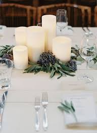 candle wedding centerpieces an affordable idea