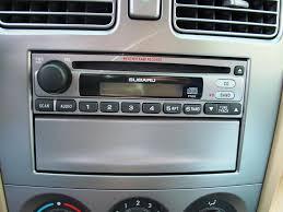 2003 2008 subaru forester car audio profile