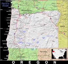 Oregon Maps by Or Oregon Public Domain Maps By Pat The Free Open Source