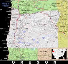 Oregon Maps Or Oregon Public Domain Maps By Pat The Free Open Source