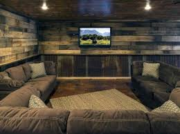home theatre interior design top 60 best rustic basement ideas vintage interior designs