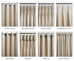 Different Designs Of Curtains Different Styles Of Drapes Best 25 Drapery Styles Ideas On