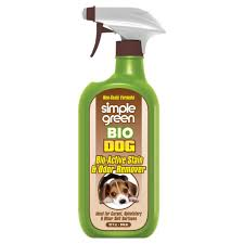 Stain Remover For Upholstery Simple Green 32 Oz Bio Dog Pet Stain And Odor Remover