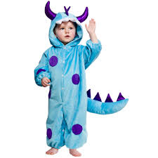 Halloween Monster Costumes by Lil Blue Toddler Monster Costume My Fancy Dress Ireland