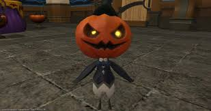 ffxiv halloween 2017 pumpkin butler item xivdb final fantasy xiv stormblood database