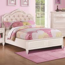 Twin Size Beds For Girls by Buy Caroline Twin Size Bed W Diamond Tufted Headboard By Coaster