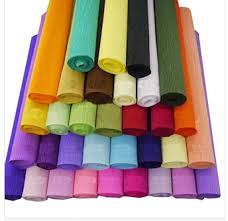 where to buy crepe paper sheets aliexpress buy factory direct sales 4sheets bag 250 50cm