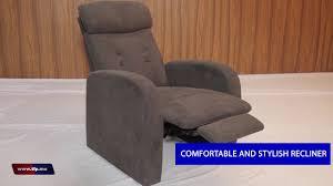 stylish recliner push back recliner sofa youtube
