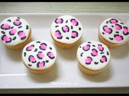 leopard print cupcakes in buttercream quick tutorial youtube