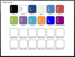 powerpoint design colors color swatch add in for powerpoint 2007 and 2010