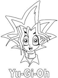 yu gi oh coloring pages coloringeast com