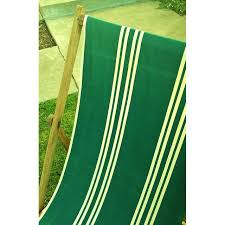 vintage wood u0026 canvas folding beach deck chair chairish