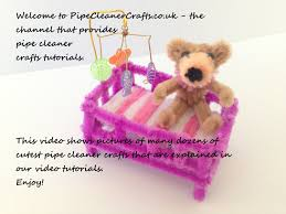 pipe cleaner crafts tutorials diy channel overview モールアート