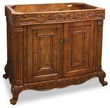 Bathroom Vanity Console by Lyn Design Van012 Wood Vanity Victorian Bathroom Vanities And