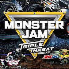 monster jam triple threat series presented amsoil presented