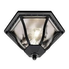 incandescent luminaire outdoor lighting bel air lighting stewart 2 light outdoor black incandescent flush