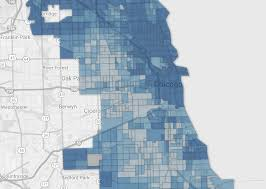 44th Ward Chicago Map by Chicago Public Tiers