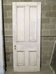 Salvaged French Doors - antique double entrance french doors walnut 59 x 89 5
