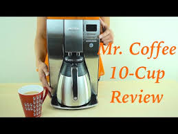 Mr Coffee Optimal Brew 10 Cup Thermal Coffee Maker Review
