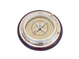 buy brass directional desktop compass 6 inch wholesale nautical