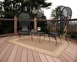 Indoor Outdoor Rugs Home Depot by Floor Outdoor Furniture Design Ideas With Wooden Deck Also Home