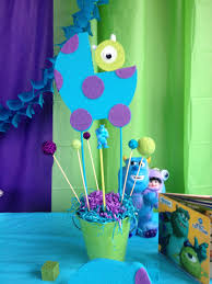 inc baby shower decorations monsters inc baby shower centerpiece baby baby