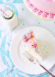 perfectly delightful vanilla birthday cake