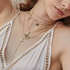 double gold necklace images Ines double gold necklace wanderlust co jpg