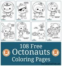 octonauts coloring pages free coloriage medic peso penguin