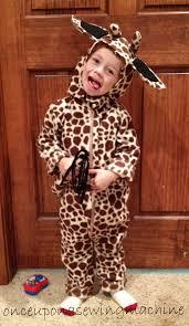 Giraffe Halloween Costume Baby Diy Halloween Costume Tutorials Sewing Machine