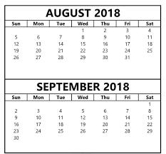 printable calendar 2018 august august calendar 2018 printable template pdf with holidays business