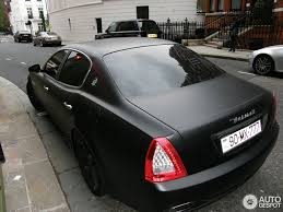 all black maserati maserati quattroporte sport gt s 2009 11 june 2012 autogespot