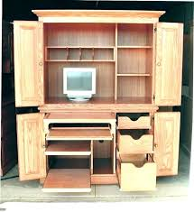 Corner Desk Armoire Office Armoire Dynamicpeople Club