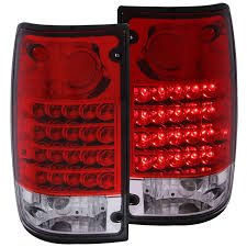 toyota pickup amazon com anzo usa 311043 toyota pickup red clear led tail light